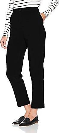 Benetton 4BYW572V3, Pantalones para Mujer, Negro (Black 100), W31/L32 (Talla del Fabricante: 46)
