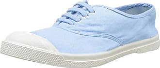 Damen Tennis Lacet Femme Flach, Blau (Leuchtend-Blau), 38 EU Bensimon
