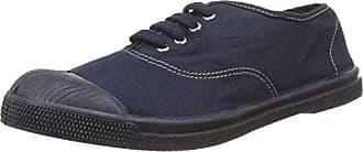 Damen Tennis Lacet Sneaker, Blau (Marine), 37 EU Bensimon