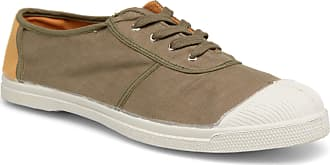 Bensimon - Herren - Linenoldies - Sneaker - grün WEGJU