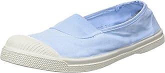 Bensimon Tennis Elastique, Zapatilla Baja para Mujer, Azul (Bleu Vif), 39 EU