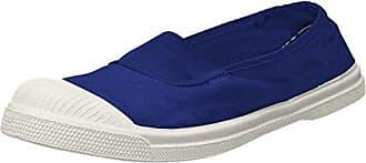 Bensimon Tennis Elastique, Zapatilla Baja para Mujer, Azul (Bleu Clair), 39 EU