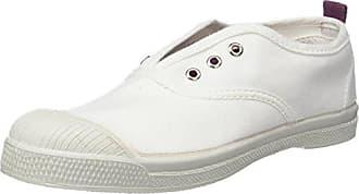 Bensimon Unisex-Kinder Tennis Flo Sneaker, Weiß (Blanc), 34 EU