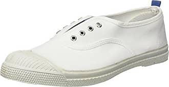 F15274C389 - Zapatillas de Deporte de Lona Mujer, Blanco (Blanco (Blanc 101)), 36 EU Bensimon