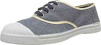 BensimonTennis Shinypiping - Sneaker Donna, Blu (Bleu(514 Indigo)), 38