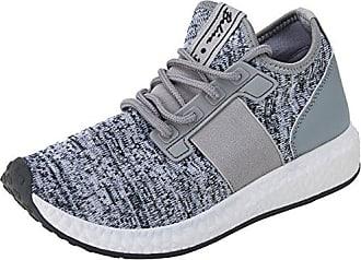 Beppi Canvas 2148511, Zapatillas de Deporte para Mujer, Gris (Grey), 35 EU Beppi