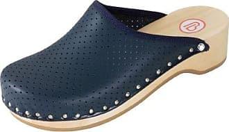 Berkemann 00400_Standard-Toeffler_Glattleder, Unisex-Erwachsene Clogs, Blau - Blue - BLUE - Größe: 34.5 EU
