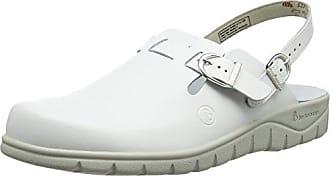 Berkemann Original Sandale, Zuecos Unisex Adultos, Multicolor (Weiß/Leopard 010), 44.5 EU