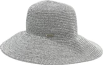 BOSS Casual Womens Farbelle 10199711 01 Sun Hat, Grey (Charcoal 011), One Size Boss Orange by Hugo Boss