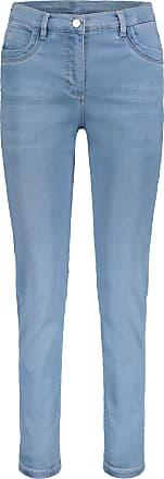 Jeans, Light Blue Denim, Schrittlänge: 75cm, 5-Pocket Stil, für Frauen, Reißverschluss Betty Barclay
