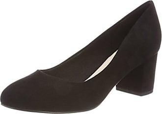 Womens Pumps Mit Blockabsatz 24-49370 Closed Toe Heels Bianco WGGQQQt