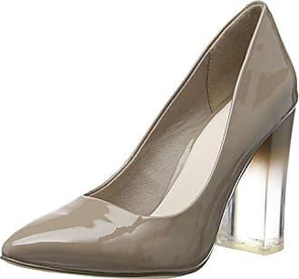 Womens Wellen Pumps 24-48713 Closed Toe Heels Bianco TLe91Ng