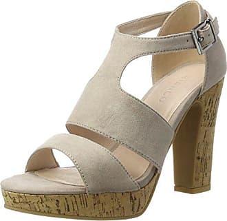 Bianco Damen Strappy Sandal 20-49214 Plateausandalen, Braun (Light Brown), 38 EU