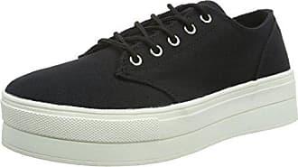 Flatform Sneaker JJA16 - Zapatillas Mujer, Color Gris, Talla 37 EU Bianco