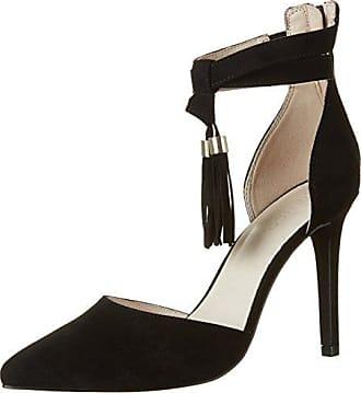 Clean Basic Sandal Jfm17 - Zapatos de Tacón Mujer, Color Azul, Talla 40 Bianco