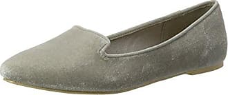 Cross Slipper, Mocassins Femme, Gris (Grey 15), 39 EUBianco