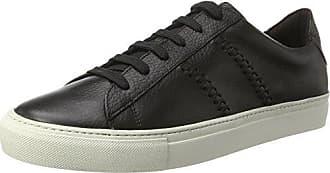 Bianco 64-71492 - Zapatillas de Piel Hombre, Color Negro, Talla 46 EU