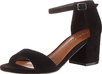 Bianco Open Dress Shoe Djf16, Sandales Bout Ouvert FemmeNoirNoir, 36