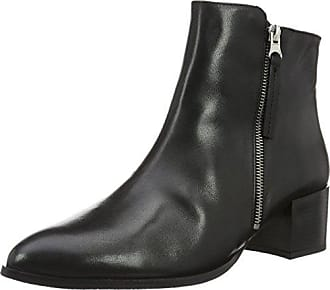Bianco Ankle Leather Boot Black, Schuhe, Stiefel & Boots, Hohe Boots, Schwarz, Female, 37