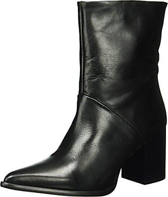 Chunky Boot, Bottes Motardes Femme, Noir (Black 10), 38 EUBianco