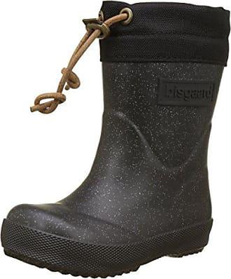 Bisgaard 92007999, Bottes de Pluie Fille, Noir (Glitter Black), 37 EU