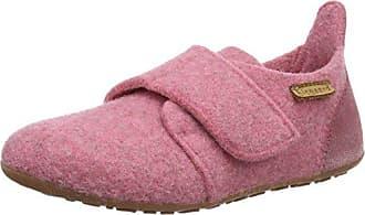 Bisgaard Hausschuhe-Wool Velcro, Mocasines Unisex Niños, Gris (70 Grey), 36 EU