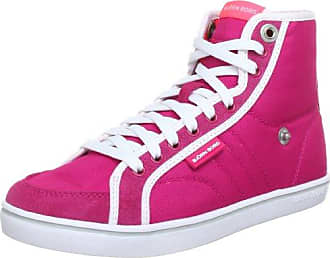 MALLY MID NYL 1241153501, Damen Fashion Sneakers, Rot (BURGUNDY 5400), EU 42 Björn Borg