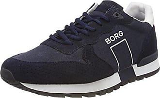 BJORN Borg Calle Nub M, Zapatillas para Hombre, Gris (Dark Grey 0300), 42 EU