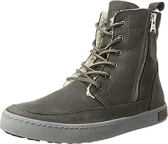 Blackstone JL56, Sneakers basses femmesGrisGrau (Steel Grey), 41 EU