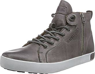 Bootie High Grey, Damen Sneaker Grau Gris (Grey) 38 Blackstone