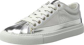 041326, Sneaker Donna, Argento (Plata Plata), 39 EU BASS3D