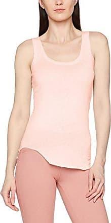 Blaumax Costa Organic Cotton, Camiseta sin Mangas para Mujer, Rosa (Light Powder 3480), 42(Talladelfabricante:L)
