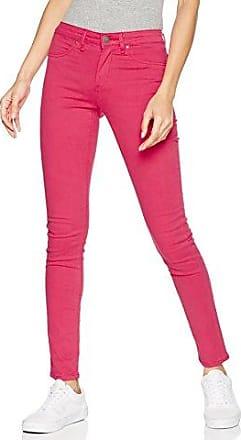 Monkee Genes Vaqueros skinny fit para mujer, talla W28/L32 (ES 38), color Rosa