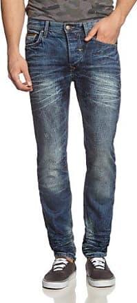 Mens 700642 Jeans Jambe Droite Mélange jQogh8