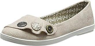 Gayls, Zapatos de Tacón con Punta Cerrada para Mujer, Gris (Pewter Rancher Canvas 704), 37 EU Blowfish
