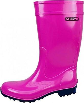 Rubber Boots, Farbe:Schwarz/Fuchsia;Größe:40 / UK 6.5