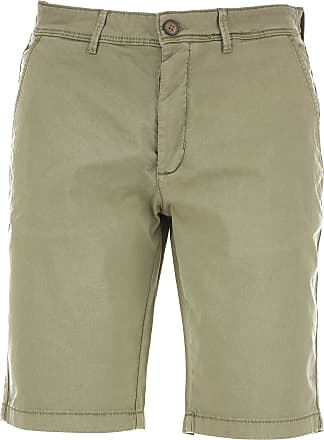 Shorts for Men, Military Green, Cotton, 2017, 28 29 30 31 32 33 34 35 36 38 40 Bomboogie