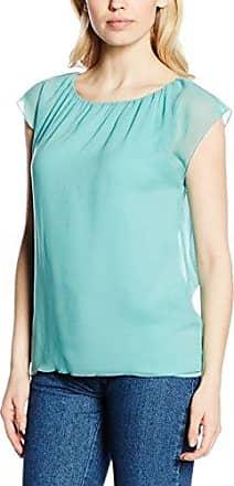 Bonita Uni, 1/2-Arm, Round-Neck, Blusa para Mujer, Turquesa, ES 44 (DE 42)