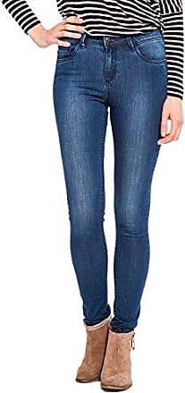 Bonobo Seoul-Papri, Vaqueros Slim para Mujer, Azul (Brut Jeans), XS