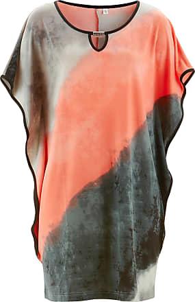 Shirt-Tunika kurzer Arm in orange von bonprix Bonprix
