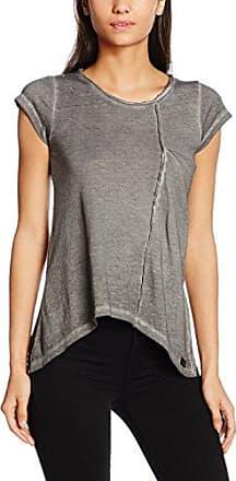 Boom Bap T-Shirt Invisible, Camiseta para Mujer, Gris (Grey), M
