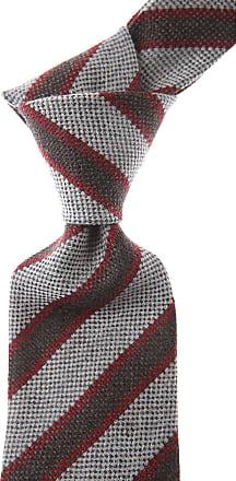 Ties On Sale, Grey Melange, Wood, 2017, one size Borrelli Napoli
