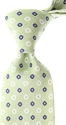 Ties On Sale, Green, linen, 2017, one size Borrelli Napoli