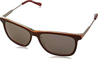 Boss Orange Herren Sonnenbrille BO 0253/S BN Q80, Schwarz (Bkpttrnwhite/DK Grey), 56