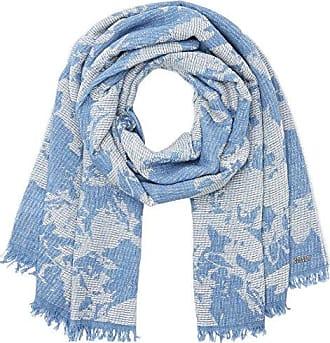 Womens Textura Neckerchief, Blue (Dark Blue), One Size Trucco