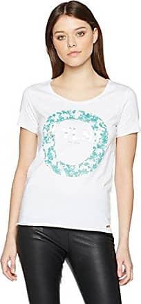 HUGO BOSS Tushirti, Camiseta para Mujer, Turquesa (Turquoise/Aqua 441), Large