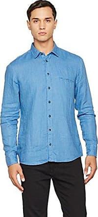 Customize, Camisa para Hombre, Azul (Open Blue 460), Medium HUGO BOSS