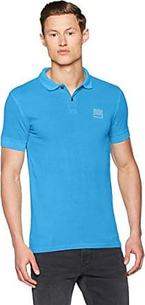 Pascha, Polo Para Hombre, Azul (Open Blue), Small HUGO BOSS