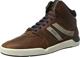 Boss Orange Saturn_lowp_tbpf, Zapatillas para Hombre, Marrón (Medium Brown 210), 46 EU