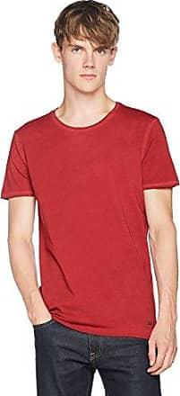 Dandre, Camiseta para Hombre, Rojo (Medium Red 611), Large HUGO BOSS